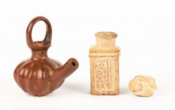 Three Pre-Columbian Items