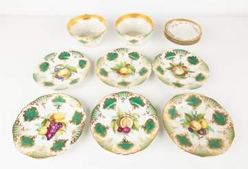 Hand Painted Luncheon Plates & Bowls