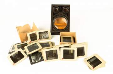 Stereo Viewer with Glass Slides