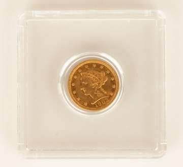 2 1/2 Dollar Gold Coin 1903