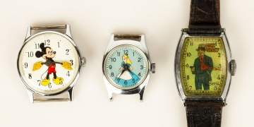 Disney & Dick Tracy Wristwatches