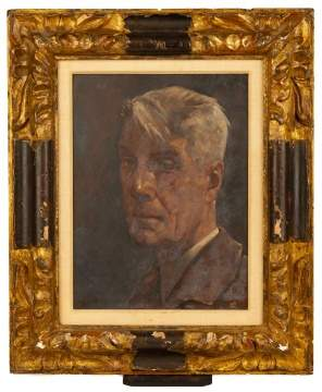 Willem Van Den Berg (Dutch, 1886-1970) Self Portrait