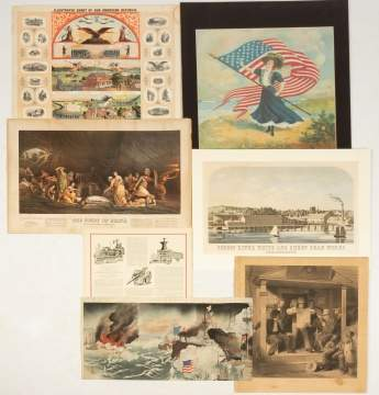 Group of Patriotic & Various Prints