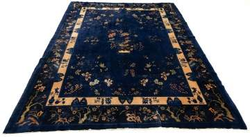 Antique Chinese Art Deco Carpet