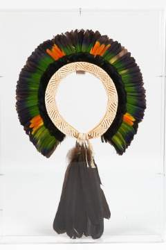 """Papagallo"" Feather Headdress"