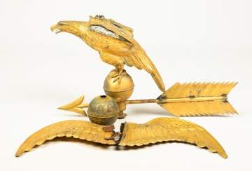 19th Century Eagle Weather Vane
