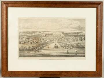 Four 19th Century Ithaca, Thompson County Prints