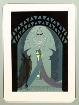 Lithograph by Erte
