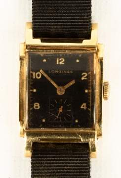 14K Gold Longines Wristwatch