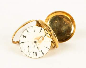 Gray S. Keen, 18K Gold Pocket Watch