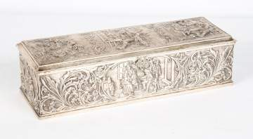 Dutch Repousse Silver Box