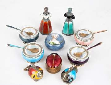 Enameled Silver Items