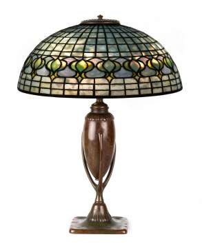Tiffany Studios, NY Pomegranate Table Lamp