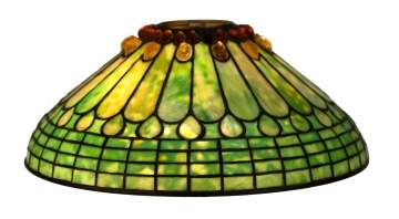 Tiffany Studios, NY Jewel & Feather Shade