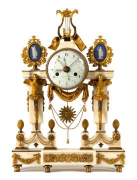 A Louis XVI Ormolu Mantel Clock By Imbert L'aine A  Paris, Late 18th Century