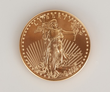 US Liberty 2013 One Ounce Gold Coin