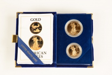 US American Eagle Proof Gold Bullion Coins