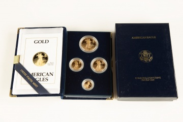 US American Eagle Gold Bullion Coins Proof Set