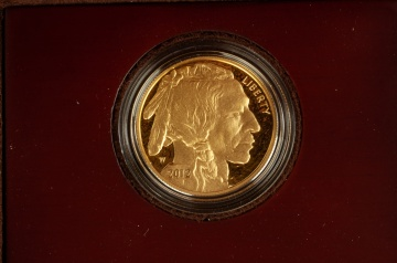 US American Buffalo 2012 One Ounce Gold Proof Coin