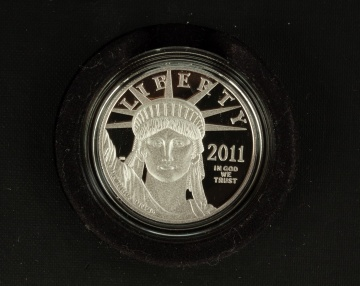 US American Eagle 2011 One Ounce Platinum Proof Coin