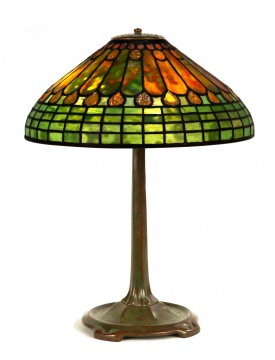 Tiffany Studios, New York, Jewel and Feather Table Lamp