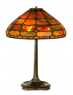 Tiffany Studios, New York, Colonial Table Lamp