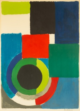 "Sonia Delaunay (French, 1885-1979) ""Composition"""
