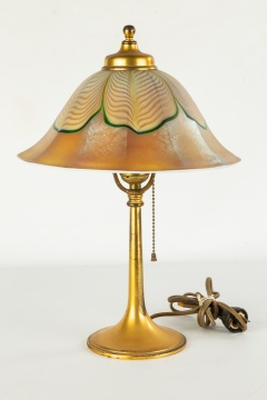 Art Glass Table Lamp