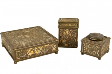 Tiffany Studios, New York Desk Pieces