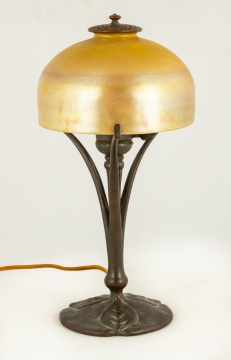 Tiffany Studios, New York, Favrile Lamp