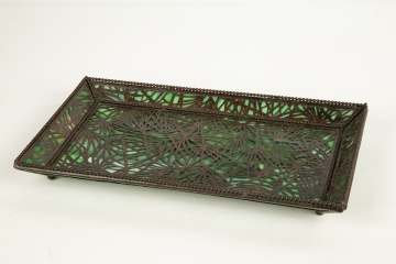 Unusual Tiffany Studios, New York Tray