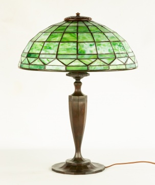 Tiffany Studios, New York Colonial Table Lamp