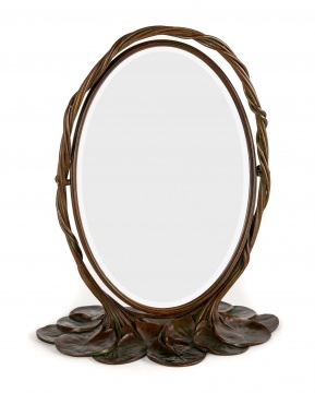 Fine & Rare Tiffany Studios, New York, Lily Pad  Mirror