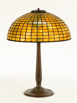 Tiffany Studios, New York, Leaded Table Lamp