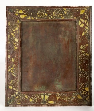Large Tiffany Studios, New York, Picture Frame