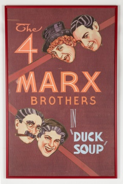 The 4 Marx Brothers in Duck Soup Poster