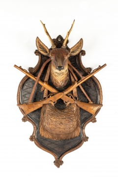 Black Forest Hunting Plaque