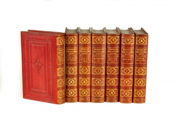 42 Volumes of The Works of Sir Walter Scott