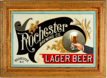 Rochester Brewing Company Advertising Sign
