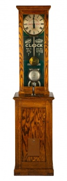 "Vintage Grandfather Clock ""How's Your Grip"""