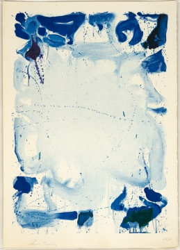 "Sam Francis (American, 1923-1994) ""Poster Without Letters"""