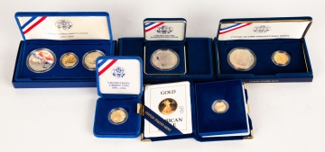 Group of U.S. Mint Gold & Silver Coins