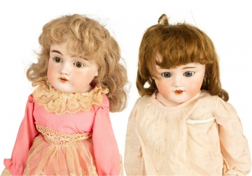 ​German J.D. Kestner and Simon & Halbig Bisque Dolls