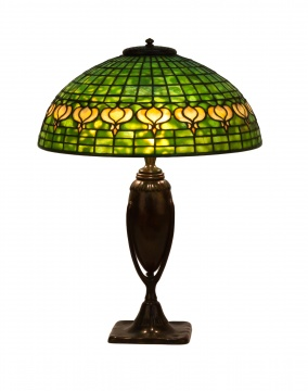 Tiffany Studios, New York Pomegranate Table Lamp