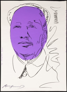 "Andy Warhol (1928-1987) ""Mao"""