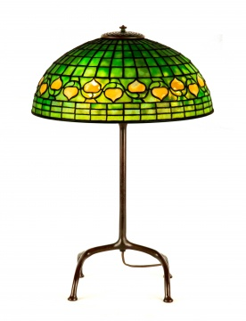 Tiffany Studios, New York Acorn Table Lamp
