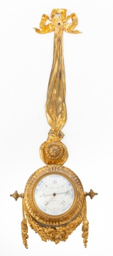 French Louis XVI Ormolu Barometer by Albinet et Coulon