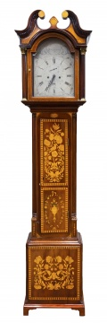 English Marquetry Tall Case