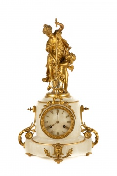 Unusual French Mystery Clock