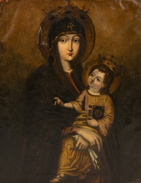 Old Masters School Madonna & Child